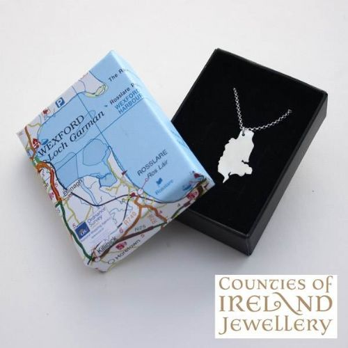 County Wexford Map Pendant